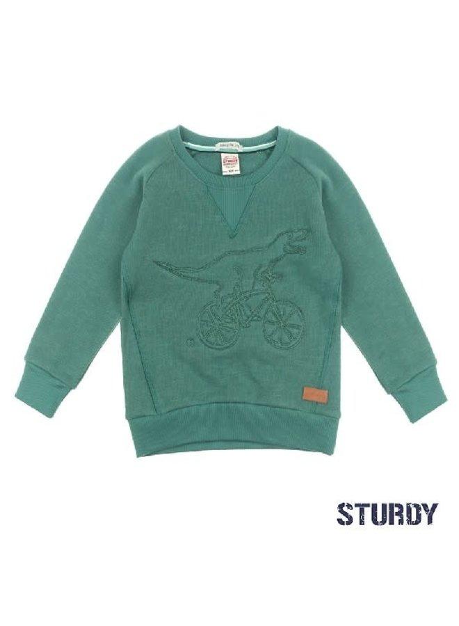 Concrete Jungle Sweater Dino Groen