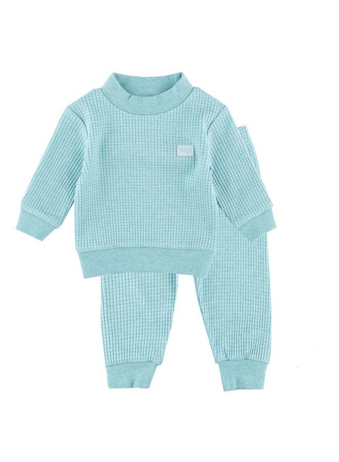 Pyjama Groen Melee Maat 140 /152