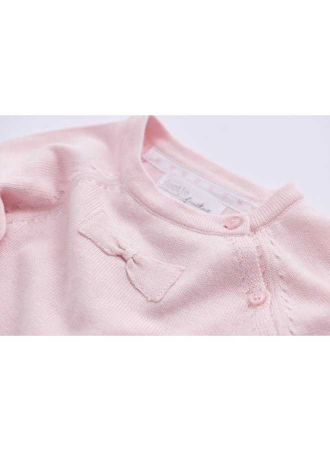First Knit Sweater Ralang Roze