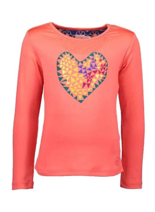 Shirt Heart Neon Diva