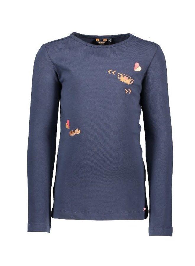 KusC Shirt Navy Blazer