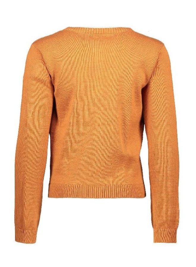 Aura fine knitted Vest  Cinnamon