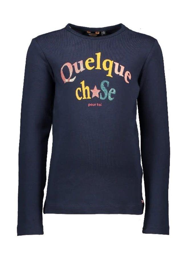 KusD Shirt Quelque Chose Navy Blazer