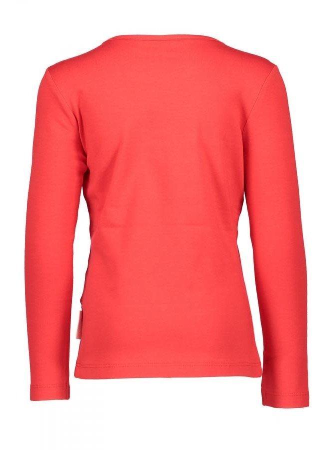 Kuss Shirt Voila  Bright Red