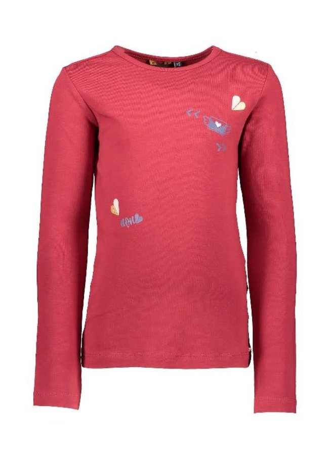 KusC Shirt Warm Red