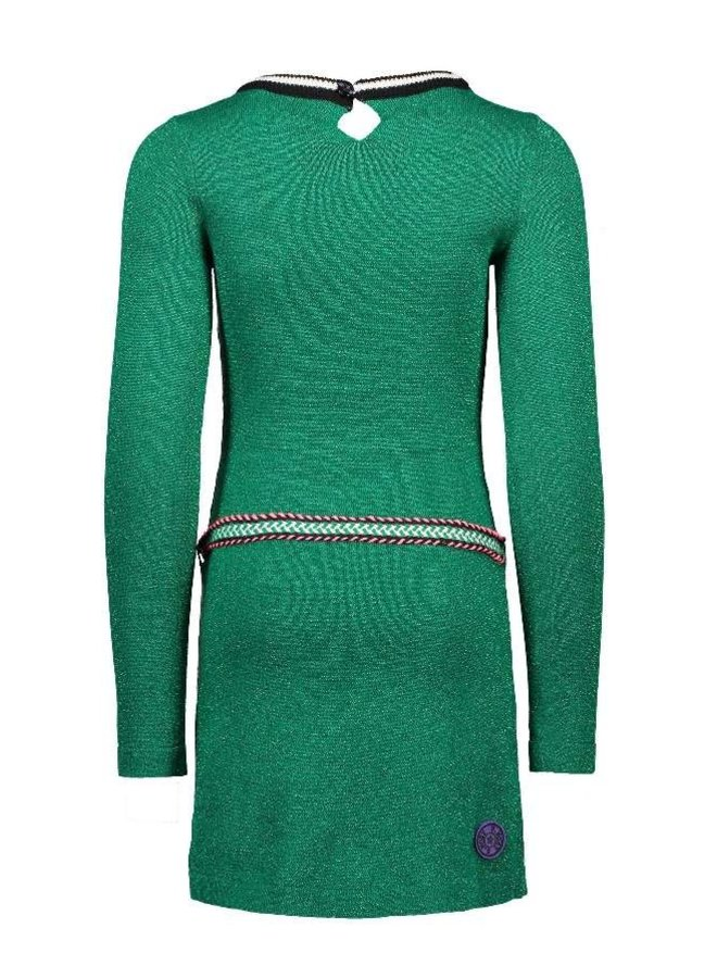 Jurk Knitted Emerald Green