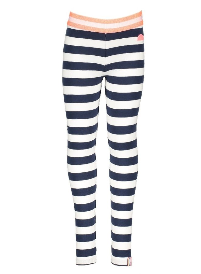 Legging  Navy/ Wit