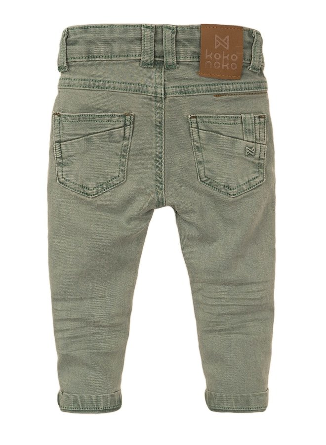 Jeans Faded Green