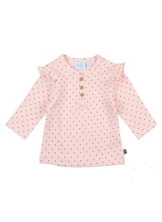 Dots Shirt Roze