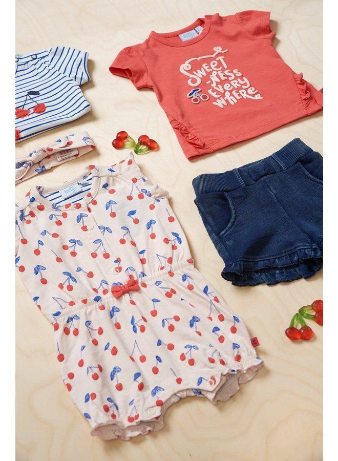 Cherry Sweetness T-shirt Everywhere Rood