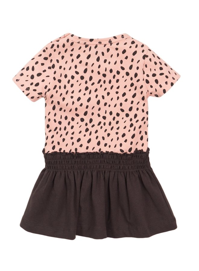 Jurk Smoky Pink/Grey