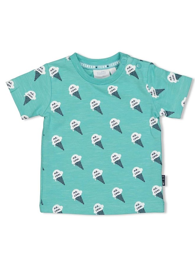 Icecream T-shirt AOP Mint Melee