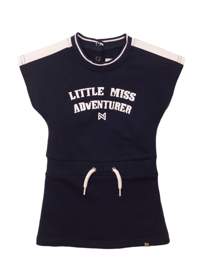 Jurk  Little Miss Donkerblauw