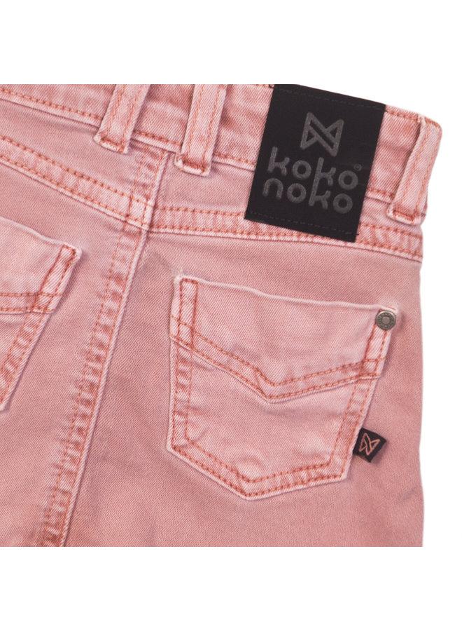 Jeans Rok Pink