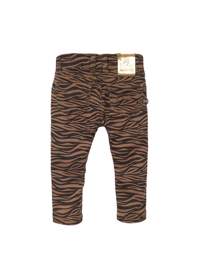 Jeans Camel/Navy