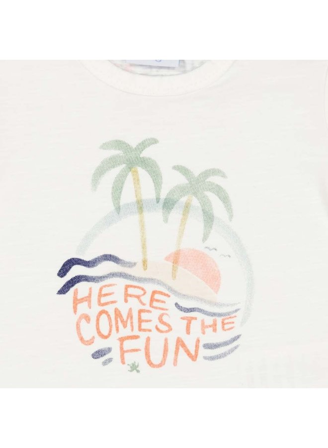 Here Comes The Fun T-shirt Wit