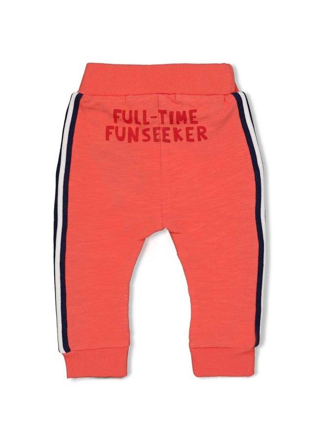 Here Comes The Fun Broek Oranje