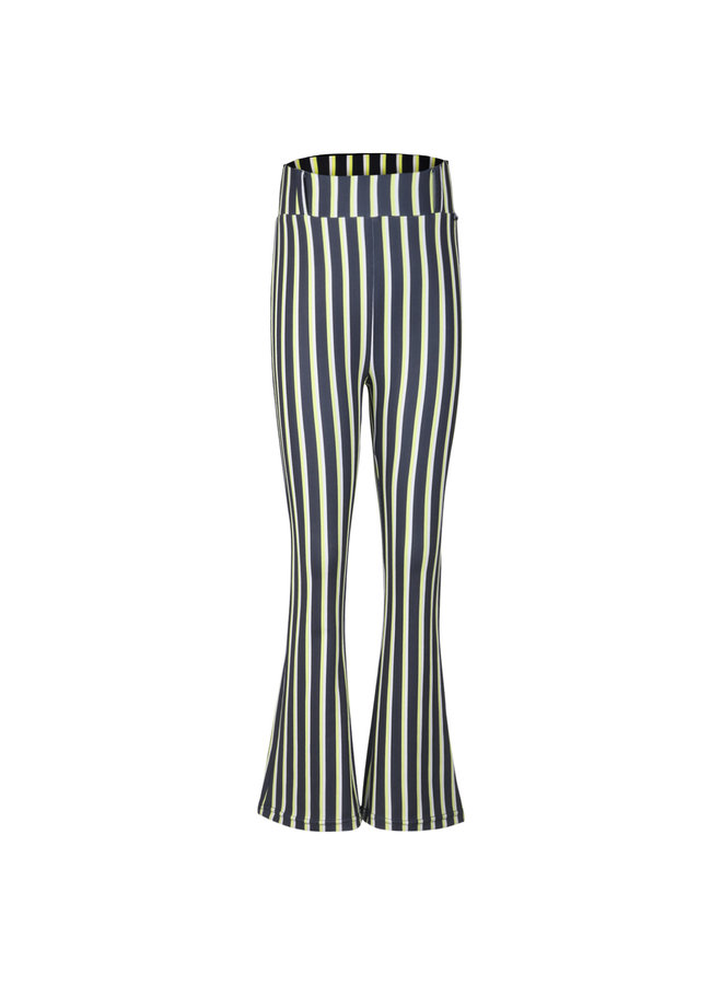 Flair Pants Stripe Black/Yellow