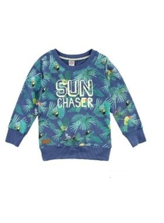 Island Sweater Sun Chaser Indigo
