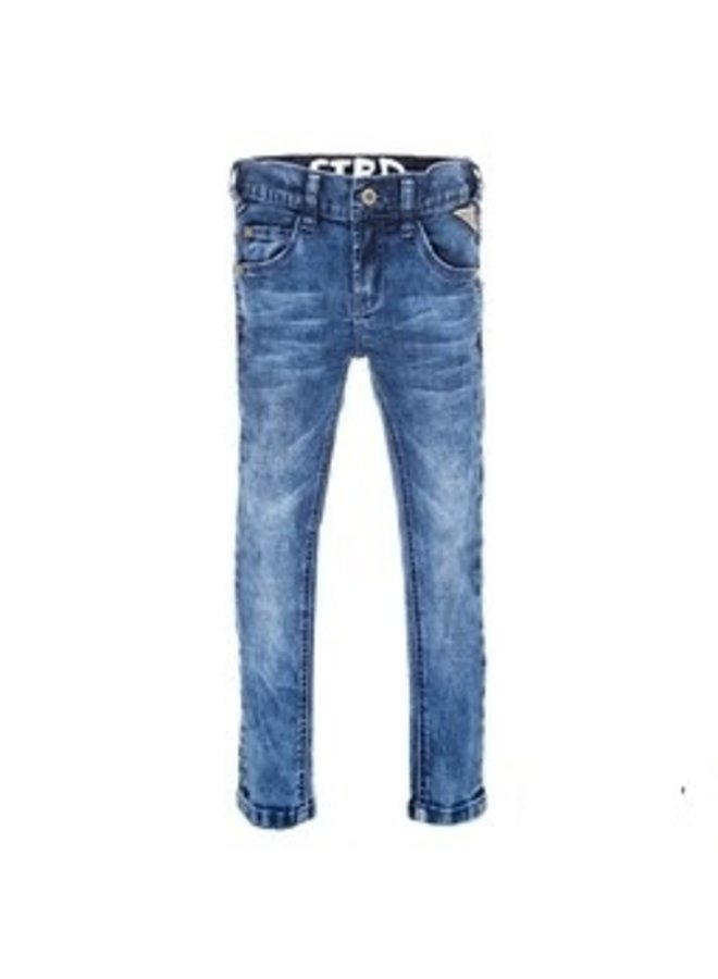 Jeans Power Stretched Slim Fit Blue Denim