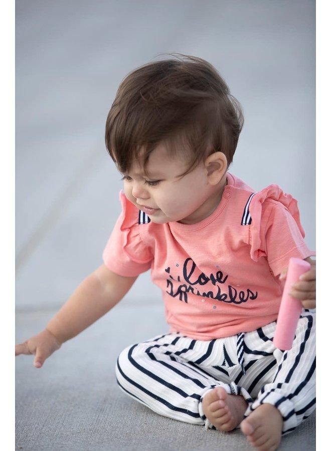 Sweet Gelato T-shirt Koraal