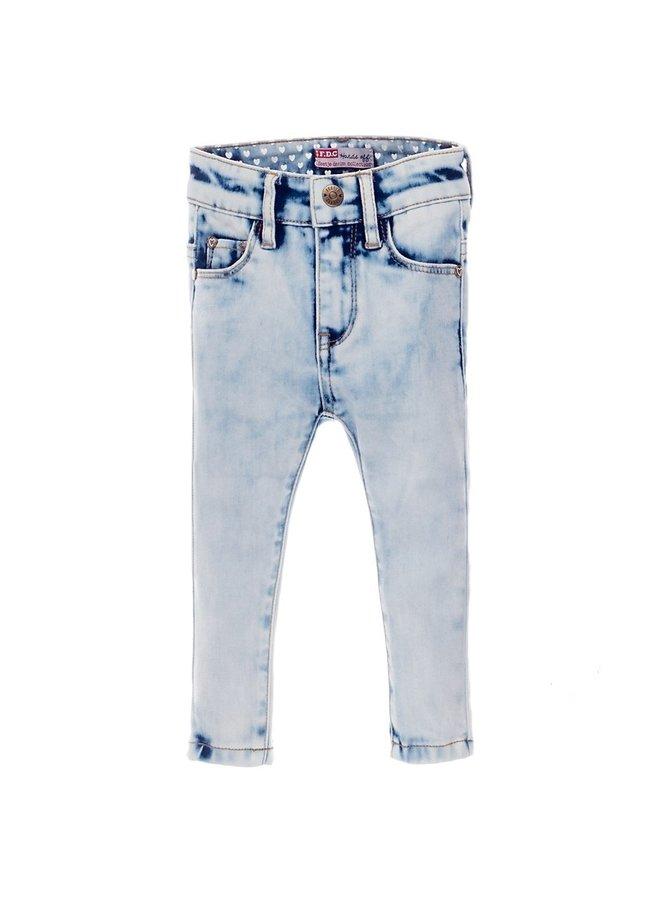 Jeansbroekje  Slim Fit Lichtblauw Denim