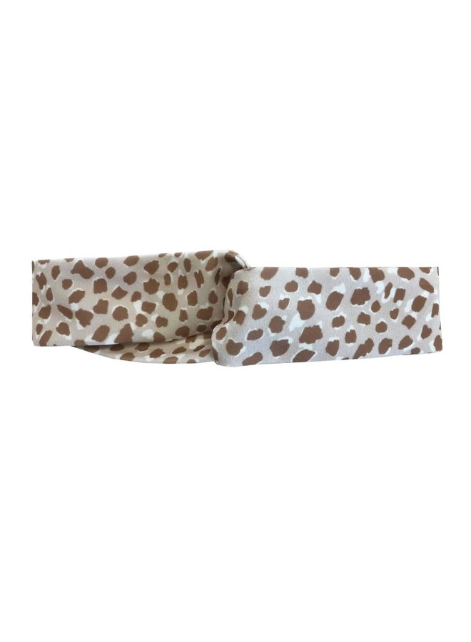 Haarband Animal Dots Being Beige