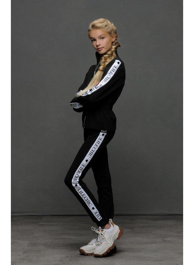 Broek Sporty Chic Black