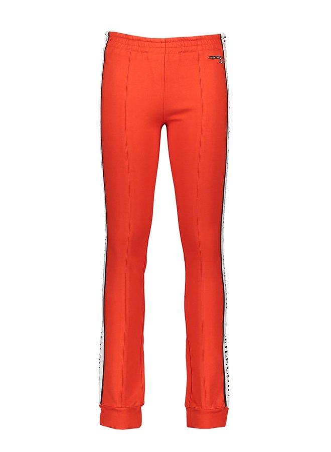 Broek Sporty Chic Stylish Red