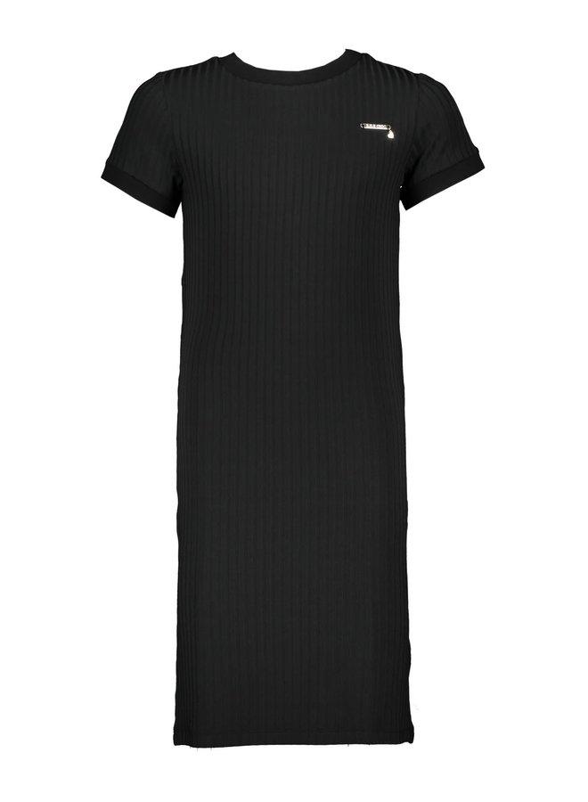 Jurk Mono Stripe Black