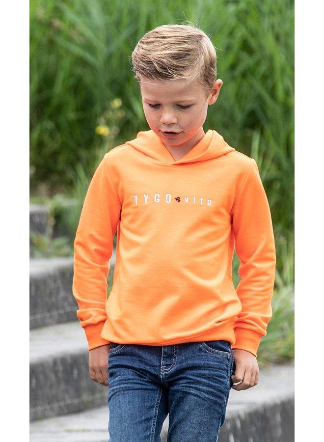 Hoody Shocking Orange