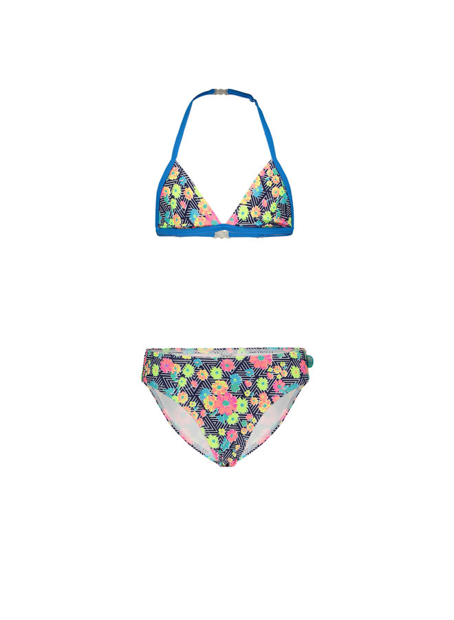Bikini tropical Flowers Triangle