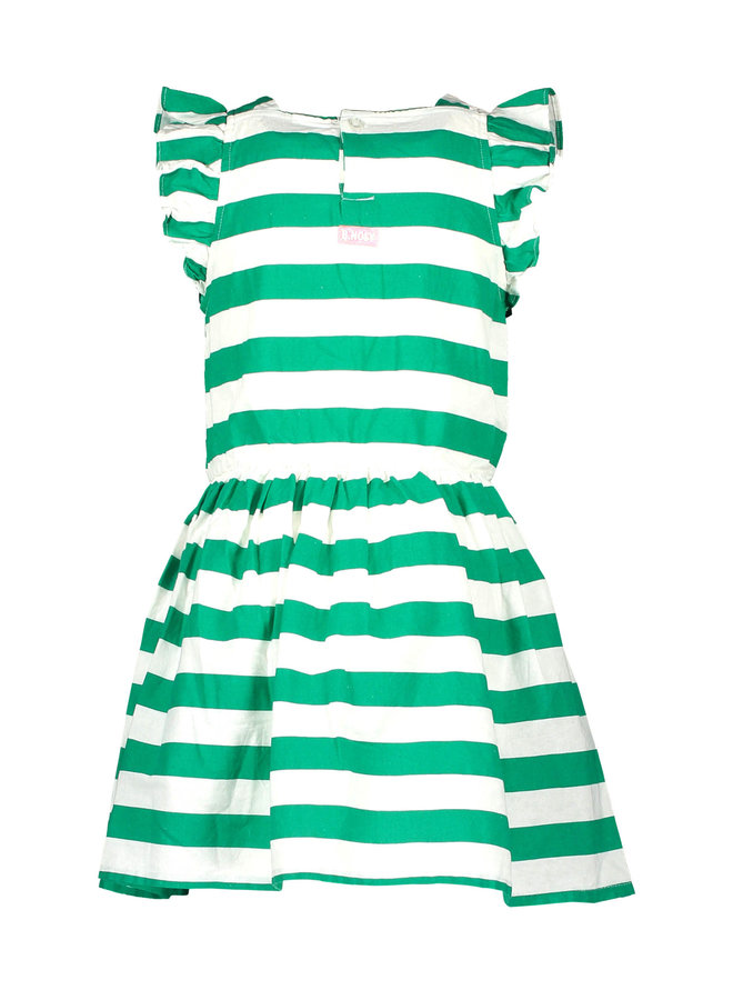 Jurk Cheer Golf Green Stripe