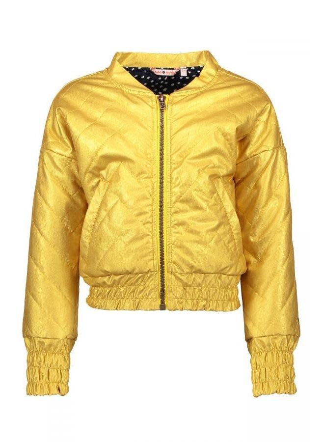 Dan Jasje Imitation Leather Gold