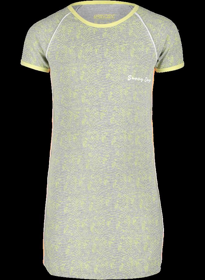 Jurk Nura Neon Yellow