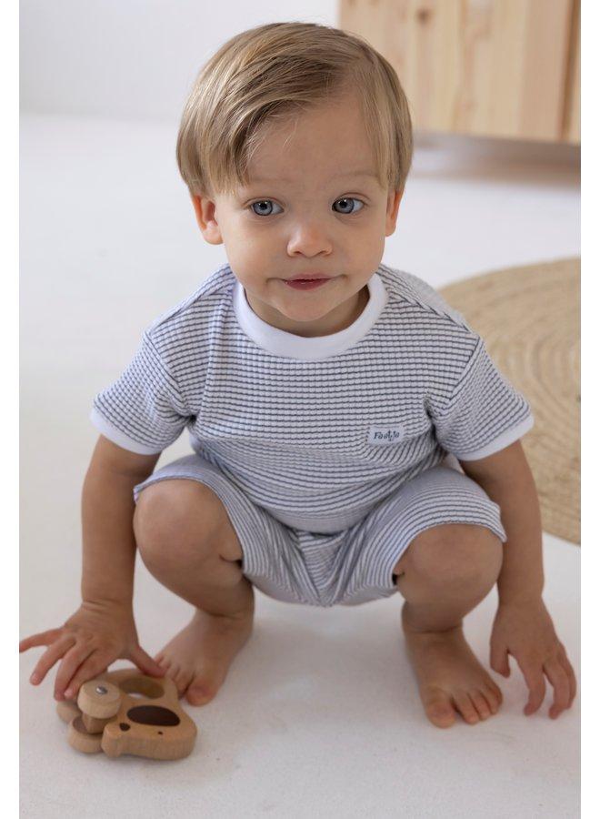 Pyjama Kort Marine