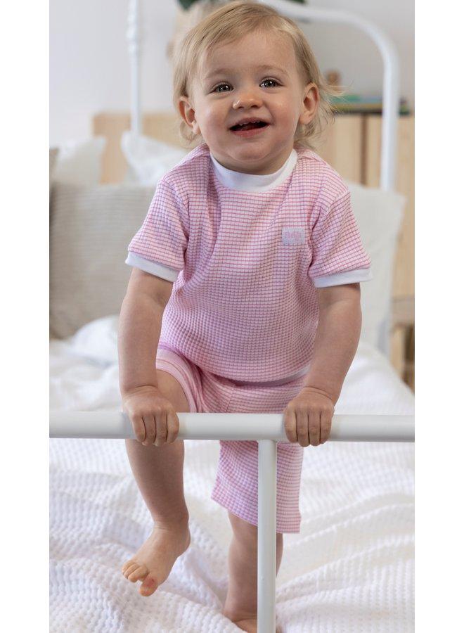 Pyjama Kort Roze