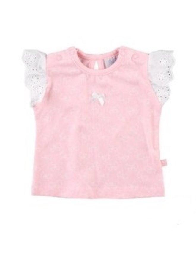 Butterfly T Shirt Roze
