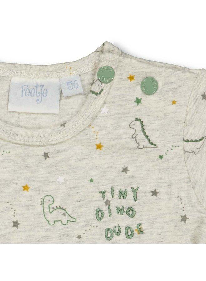 Dinomite T-shirt Grijs Melee