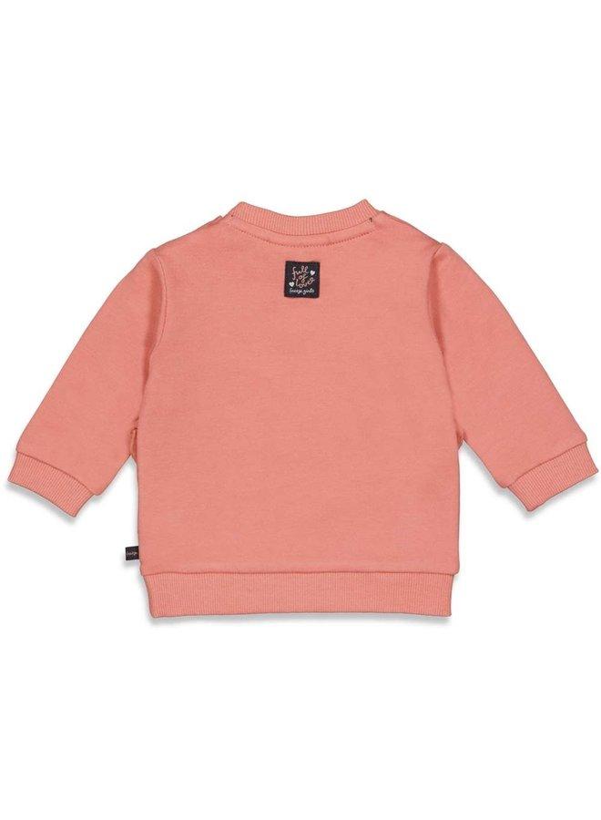 Full Of Love Sweater Terra Pink