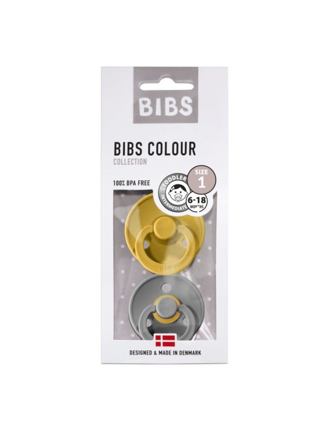 Bibs Moustard /Smoke