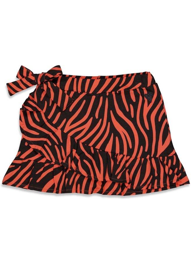 Blushing Zebra Rok Tule Zwart