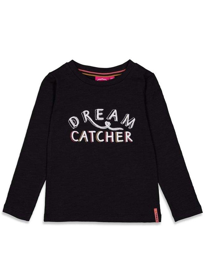 Forever Wild Longsleeve Dream Catcher Zwart
