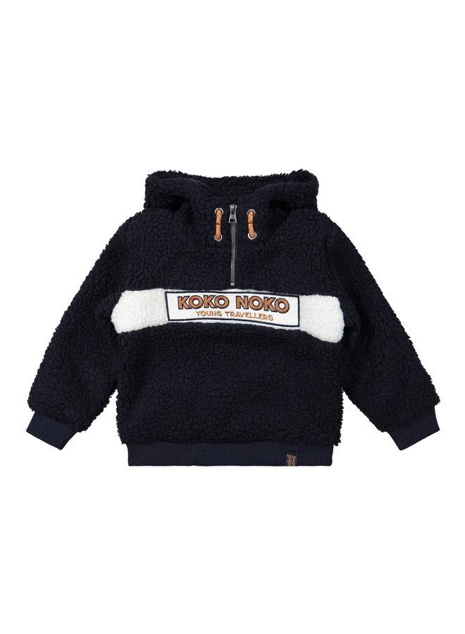 Buiten Sweater Navy/Offwhite