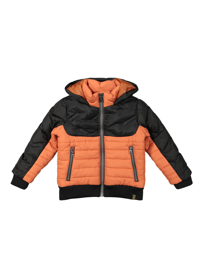 Jas Dark Grey/Faded Orange