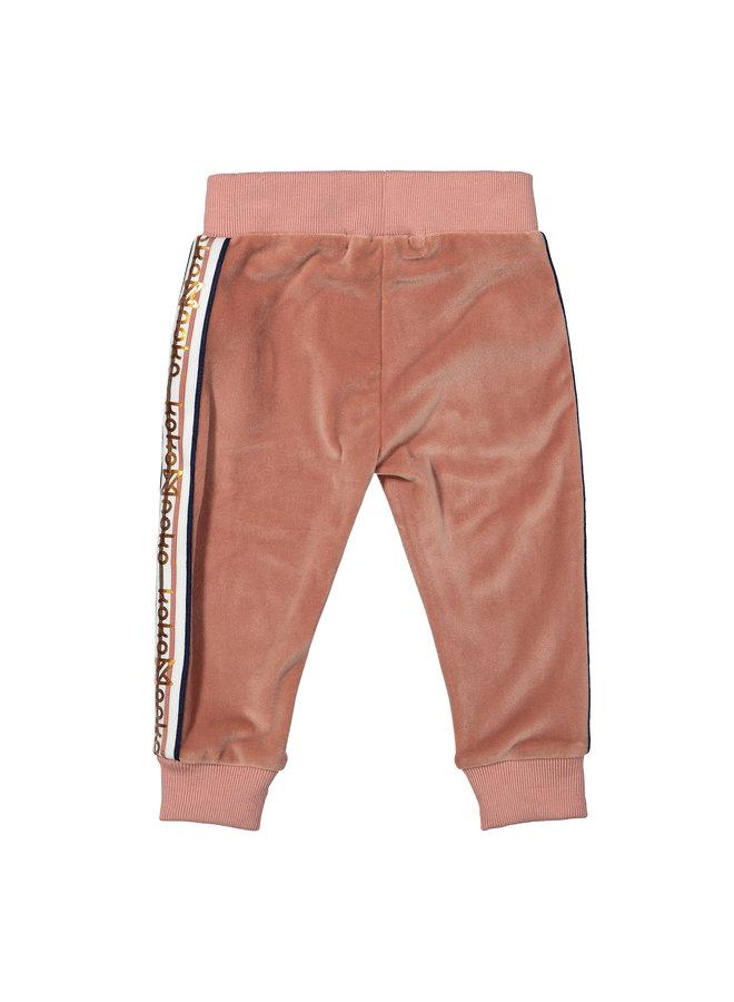 Jogging broek Dusty Pink