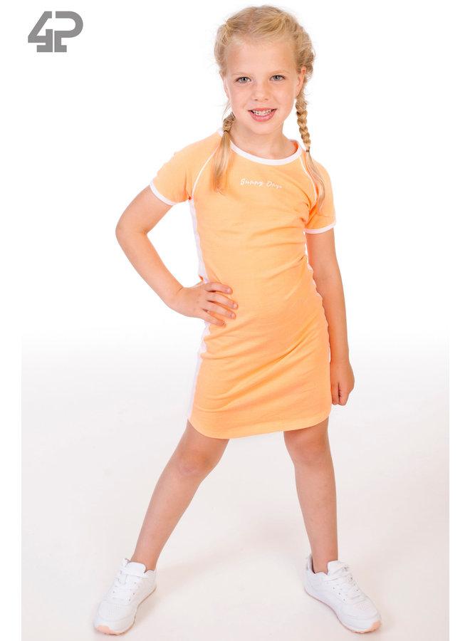 Jurk Erna Neon Oranje