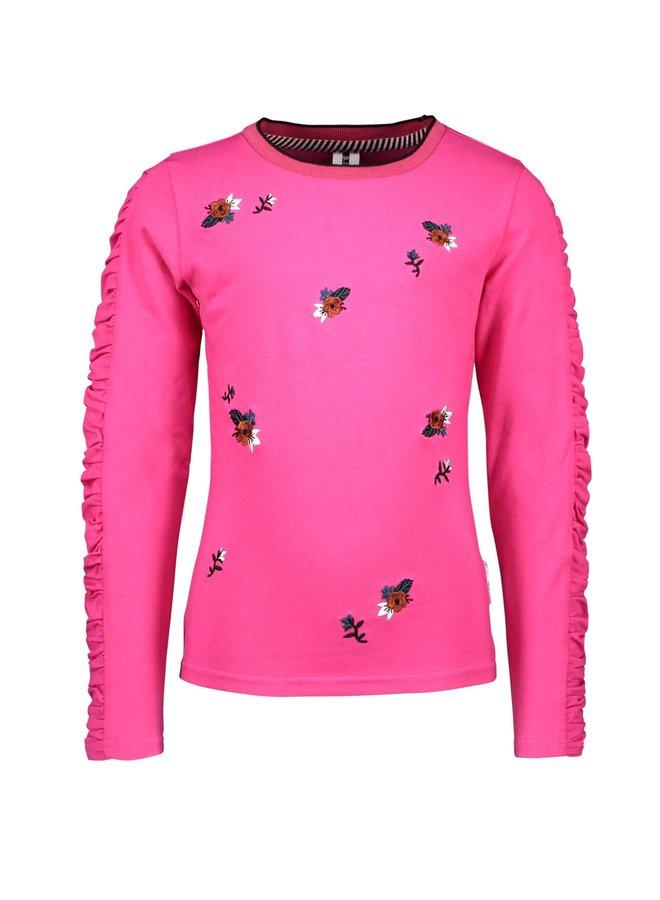 Longsleeve Beetroot Pink