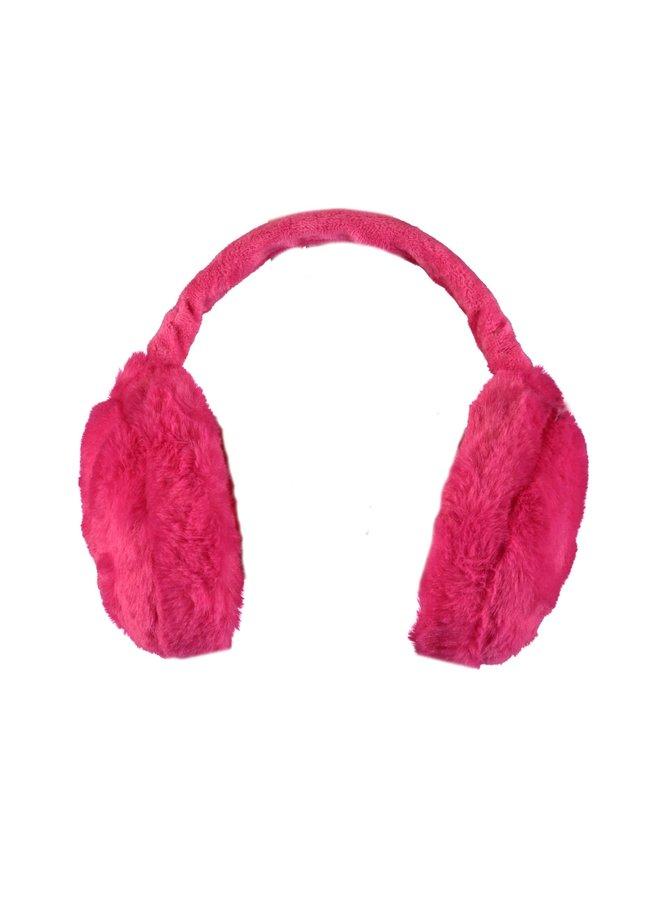 Oorwarmers  Beetroot Pink