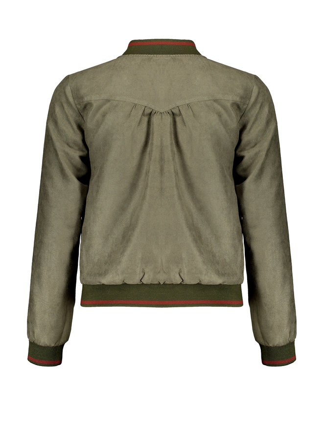 Bomber Jas Doys omkeerbaar Army Green